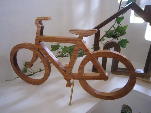 自転車の 自転車 ミニチュア 販売 : ミニチュア 自転車 wood bicycle BIG ...