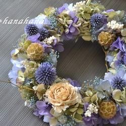 wreath「紫陽花」