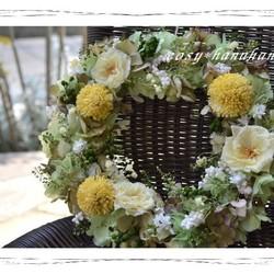 初夏の実物wreath