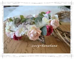 ミルキーピンクな花冠