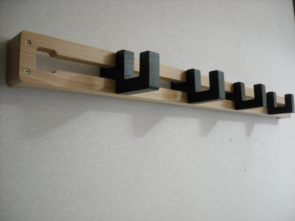 Clothes rack with clothes