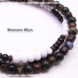 Mamma Miya 礫岩・鉄電気石・菱...