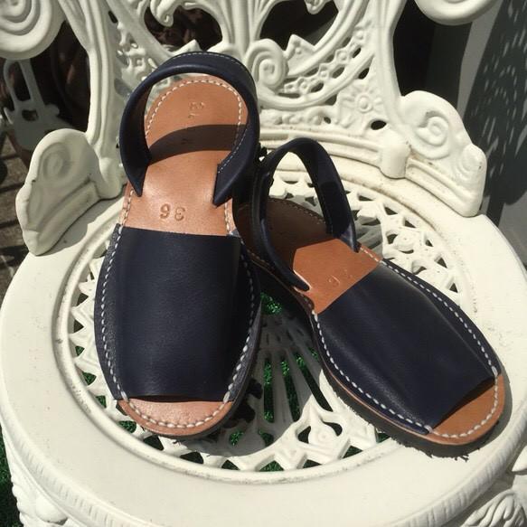 靴擦れしない疲れない本革オーダーメイドサンダル★☆